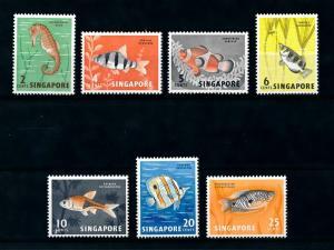 [99589] Singapore 1962 Marine Life Fish From Set MNH