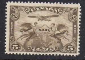 Canada Sc C1 1928 5 cent airmail stamp mint