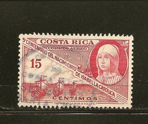 Costa Rica C211 Airmail Used
