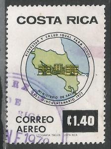 COSTA RICA C705 VFU MAP P1040