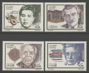 Algeria 2000 Famous Men set Sc# 1190-93 NH