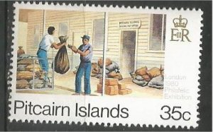 PITCAIRN ISLANDS, 1980, MNH 35c, Transport Scott 192d