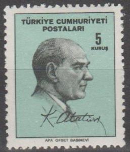 Turkey #1690  MNH F-VF  (SU1494)
