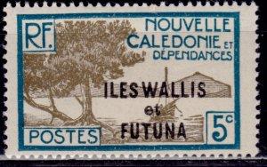 Wallis and Futuna, 1930-38, 5c, sc#47, MLH
