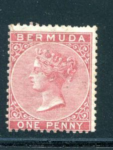 Bermuda  #1  Mint O.G.  -  Lakeshore Philatelics