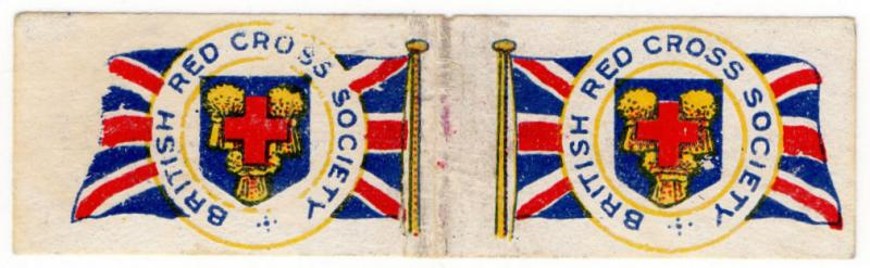 (I.B-CK) Great War Cinderella : Flag Day (British Red Cross Society)