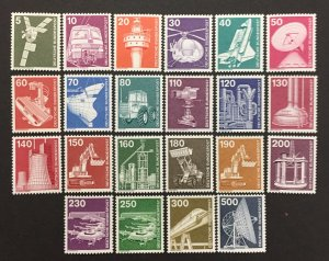 Germany  1975-82 #1170-92(No #1179), Definitive's, MNH.
