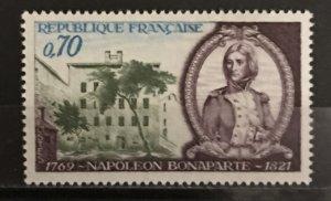 France 1969 #1255, MNH, CV $.40