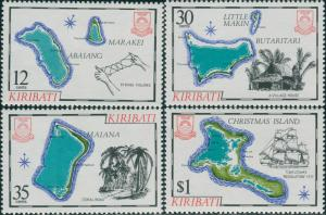 Kiribati 1981 SG145-148 Islands set MLH