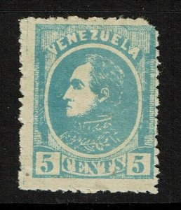 Venezuela SC# 68, Mint Hinged, Hinge Remnant, minor bending, see notes - S11326