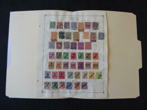 Germany Officials 1920-1938 Stamp Collection on Scott Intl Album Pages