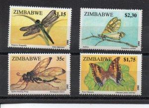 Zimbabwe 736-739 MNH