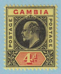 GAMBIA 49  MINT HINGED OG * NO FAULTS EXTRA FINE !