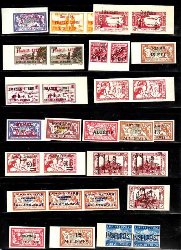 Stamp essay selection of 30, as shown