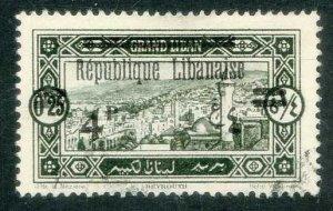 Lebanon * Scott # 104 * Used