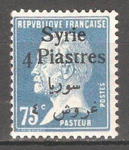 Syria 1924 French Mandate,4p on 75c,Sc 165,VF MH*OG (FC-4)
