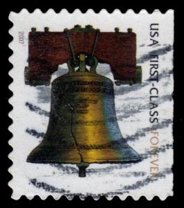 US #4126 Liberty Bell Forever, used (0.25)