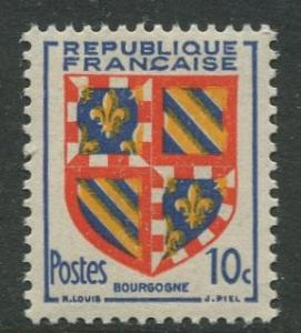 France - Scott 616 - General Definitive Issue -1949 - MLH -10c Stamp