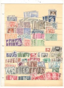 GREECE COLLECTION ON STOCK SHEET, MINT/USED