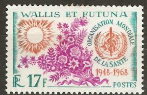 Wallis & Futuna Is 169 Cer 173 MLH VF 1968 SCV $6.50