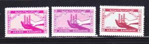 Saudi Arabia 274-276 Set MNH Hands Holding Wheat, FAO (B)