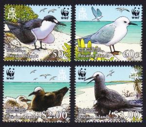 Pitcairn WWF Seabirds 4v SG#724-727 MI#717-720 SC#647a-d