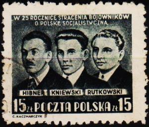 Poland. 1950 15z S.G.682 Fine Used