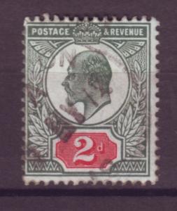 J17670 JLstamps 1902-11 great britain used #130b KEVII