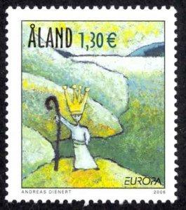 Finland Aland Islands Sc# 248 MNH 2005 Europa