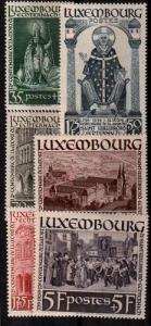 Luxembourg Scott B86-B91 Mint NH