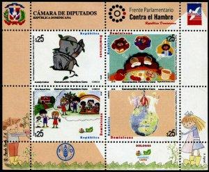 HERRICKSTAMP NEW ISSUES DOMINICAN REPUBLIC Sc.# 1641 Zero Hunger Generation