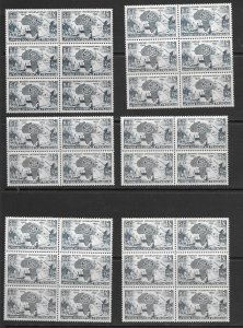 French West Africa 64 MNH x 32, see desc. 2020 CV $76.80