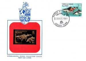 Turks & Caicos Is., Worldwide First Day Cover, Marine Life