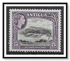 Antigua #112 QE II & Nelson's Dockyard MH
