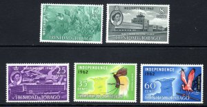 TRINIDAD  AND TOBAGO--1962     SG 300-04   independence issue     -  -LMM