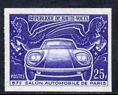 Upper Volta 1970 Paris Motor Show 25f unmounted mint impe...