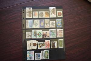GERMANY COLLECTION 1987 YEAR SET  USED  CAT VALUE OVER 25.00