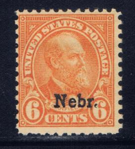 U.S. 675 NH 1929 NEBR overprint