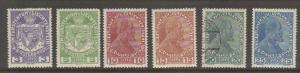 Liechtenstein #4-9 mint/used