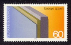 Germany Sc# 1367 MNH Energy Conservation