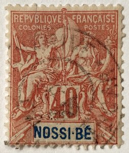 AlexStamps NOSSI-BE #41 FVF Used
