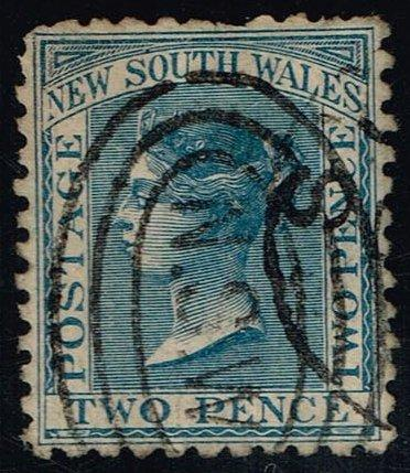 Australia-NSW #62 Queen Victoria; Used (1.10)