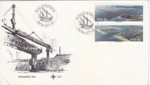 South Africa - #503-504 - 1978 - FDC - Rust spots