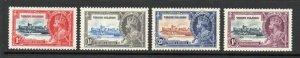 British Virgin Islands - SG# 103 - 106 MLH     /       Lot 0921254