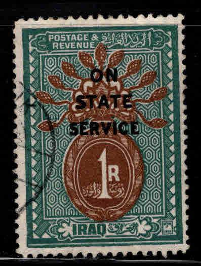 IRAQ Scott o9 Used  1923 Official stamp