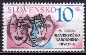 Slovakia. 1995. 220. Theater. USED.