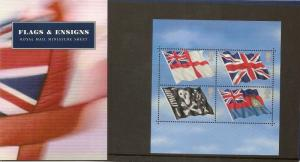 GB 2001 Flags & Ensigns Presentation Pack M06