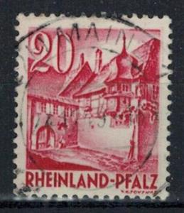 Germany - French Occupation - Rhine Palatinate - Scott 6N35