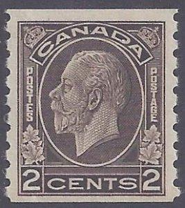 Canada Scott #206 Mint LH VF