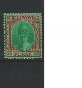 MALAYA PERAK  (P1608B) $5.00 SC120  MOG